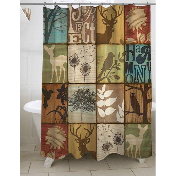 IDG Perfect Harmony Shower Curtain, 71\
