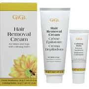 Gigi Hair Removal Cream for Bikini with Calming Balm