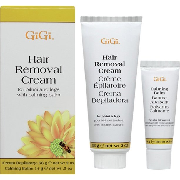Gigi Hair Removal Cream For Bikini With Calming Balm Walmart Com