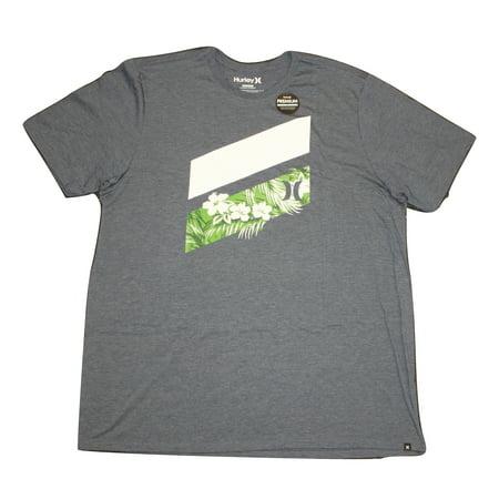 394fe54477 Hurley Mens Icon Slash Push Through Premium T-Shirt MTS0020760
