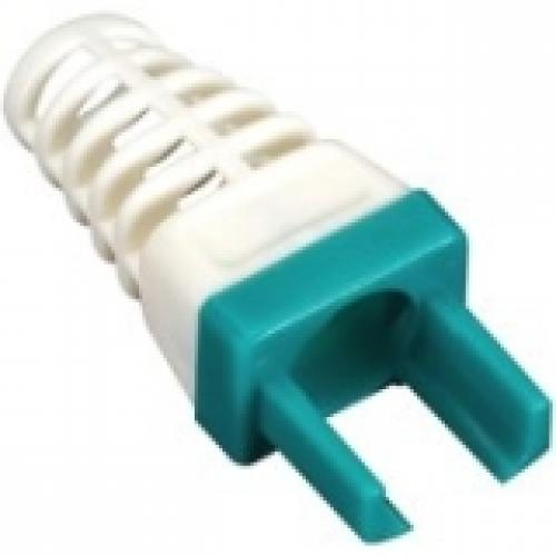 Black Box C6EZ-BOOT-GN 25PK EZ-RJ45 CAT6 STRAIN-RELIEF BOOT GREEN