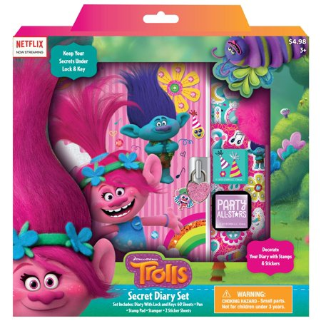 Trolls Secret Diary Set