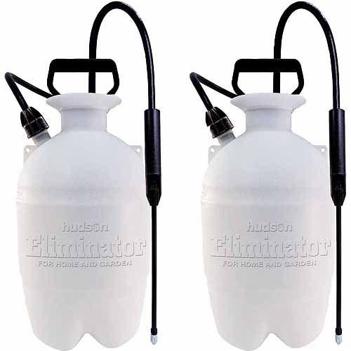 Hudson 1 Gallon Weed 'n Bug Eliminator Sprayers, 2pk