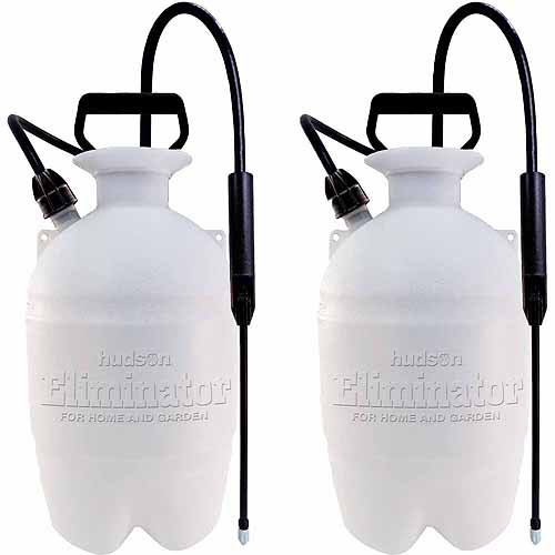 Hudson 1 Gallon Weed 'n Bug Eliminator Sprayers, 2pk