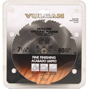 Vulcan 410331OR Circular Saw Blade, 7-1/4 in Dia, 60 Teeth, 5/8 in Arbor