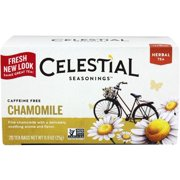 Celestial Seasonings Caffeine Free Chamomile Natural Herbal Tea 20 ea (Pack of 2)