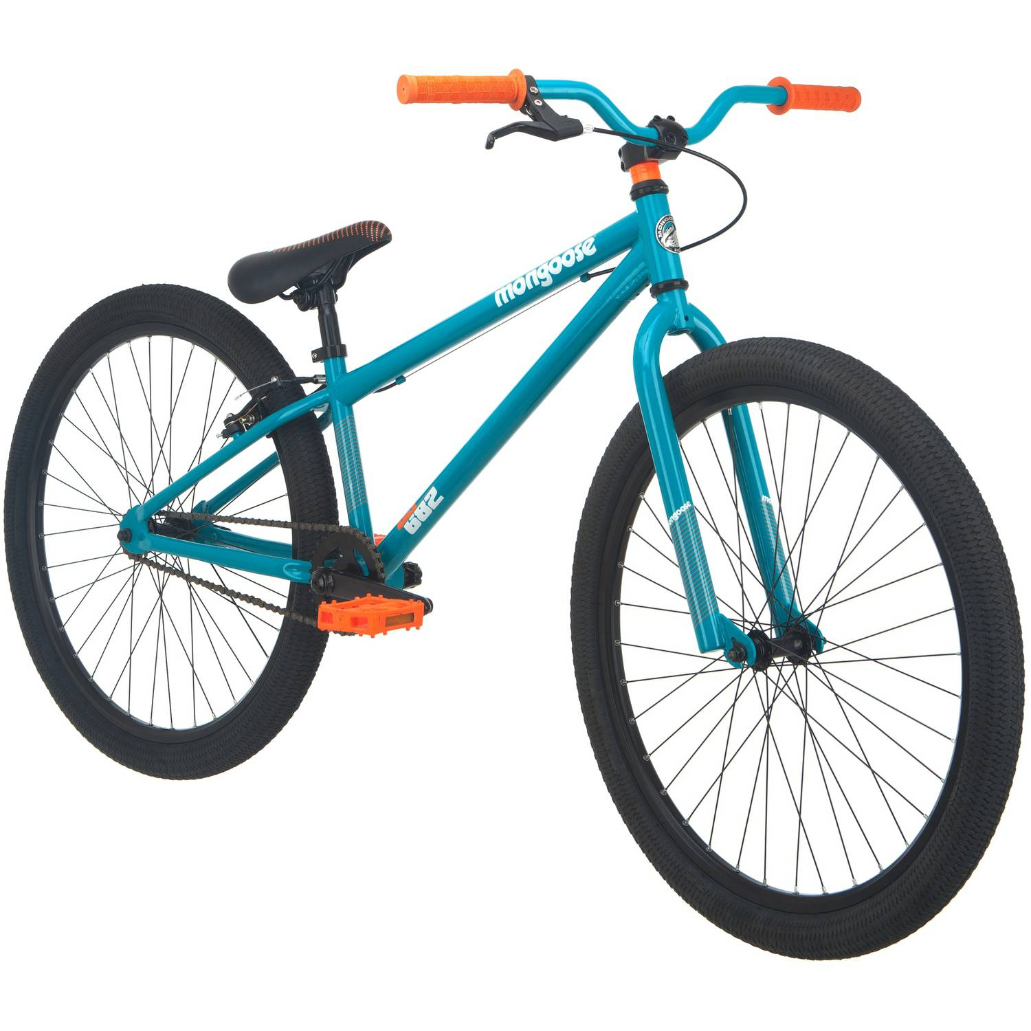 "26"" Mongoose Dirt Jump Boys' Mountain Bike, Teal"