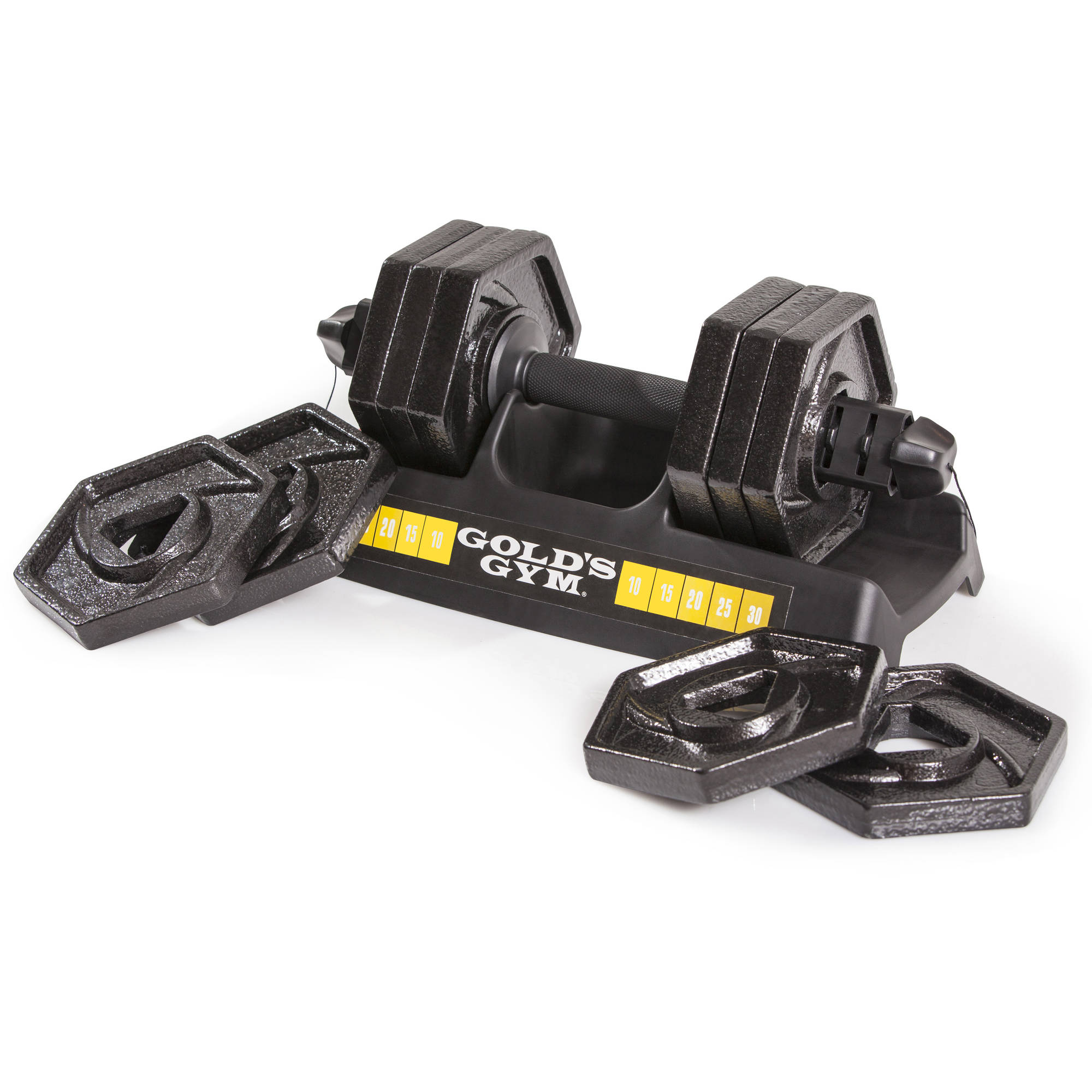 Gold's Gym 30 lb Speedlock Dumbbell | eBay