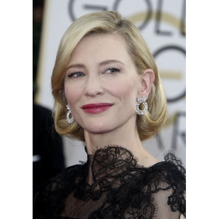 Cate Blanchett At Arrivals For 71St Golden Globes Awards   Arrivals 2 The Beverly Hilton Hotel Beverly Hills Ca January 12 2014 Photo By Charlie Williamseverett Collection Photo Print