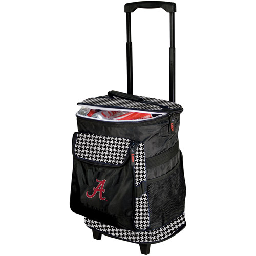 Logo Chair NCAA Alabama Houndstooth Rolling Cooler