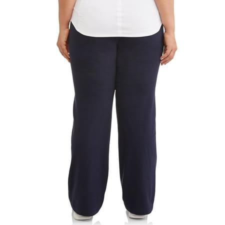 Athletic Works Women's Plus Size Dri More Bootcut Sweatpants