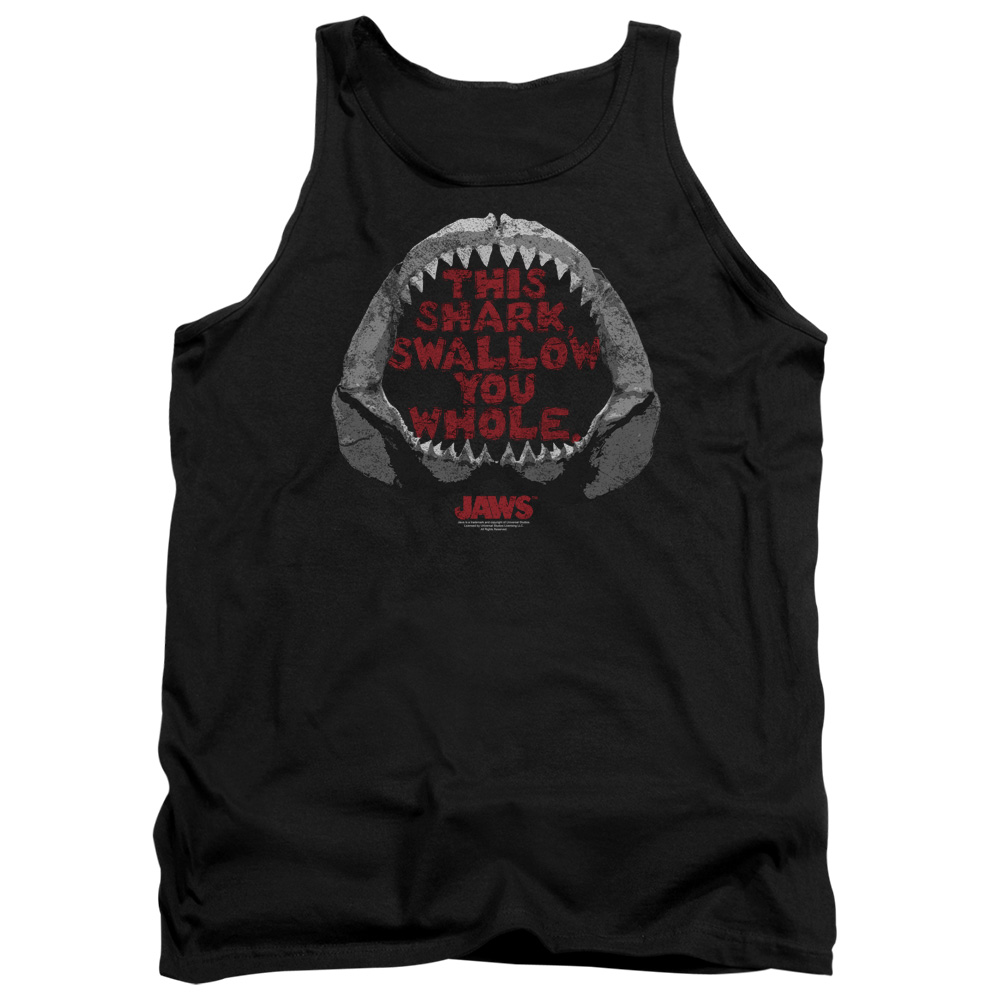 Jaws 1975 Thriller Movie Steven Spielberg This Shark Adult Tank Top Shirt