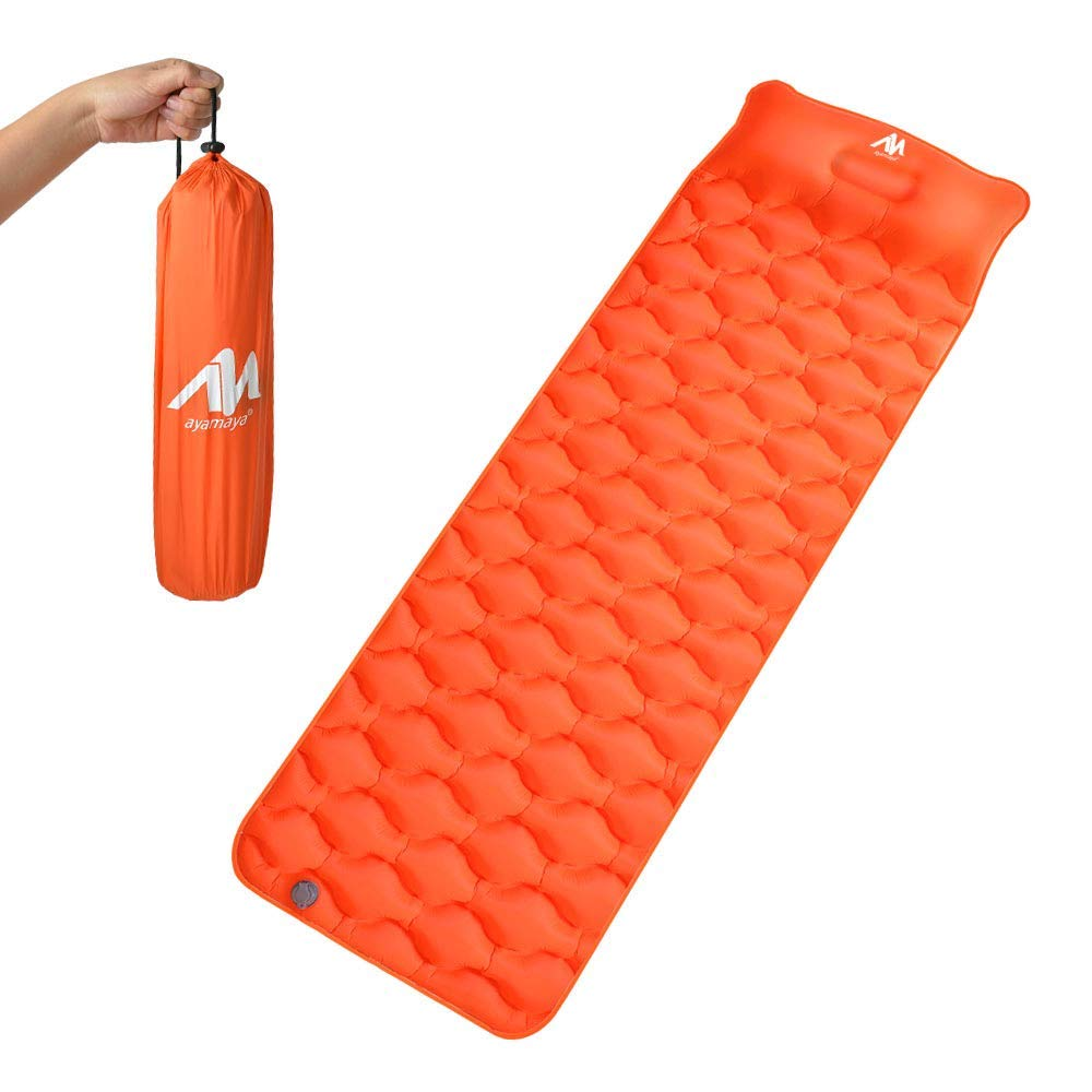 Iclover Ultralight Inflatable Sleeping Pad With Built In