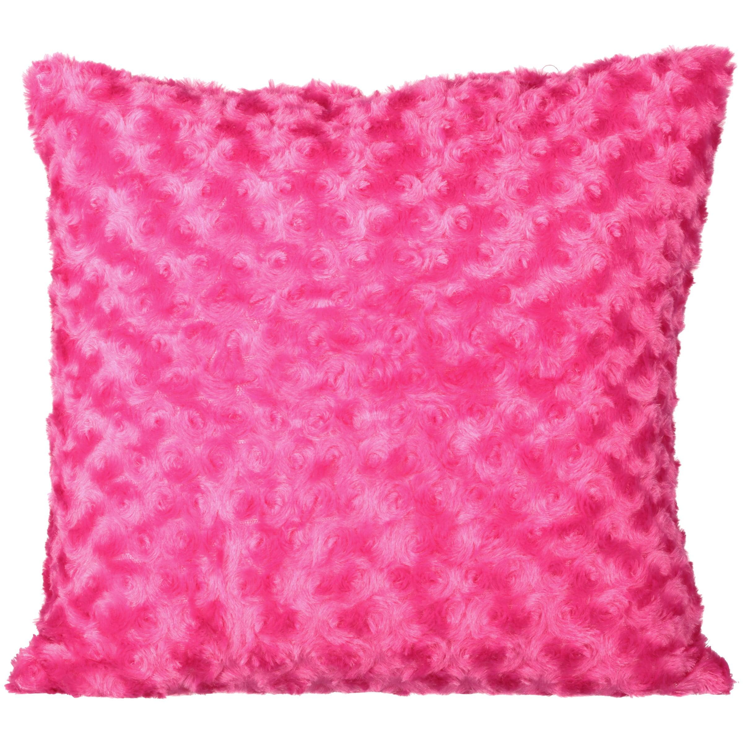 Your Zone Rosette Purple Pillow, 1 Each
