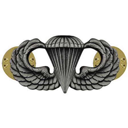 Us Army Breast Badge - Army Basic Parachutist Badge (Oxidized Finish)