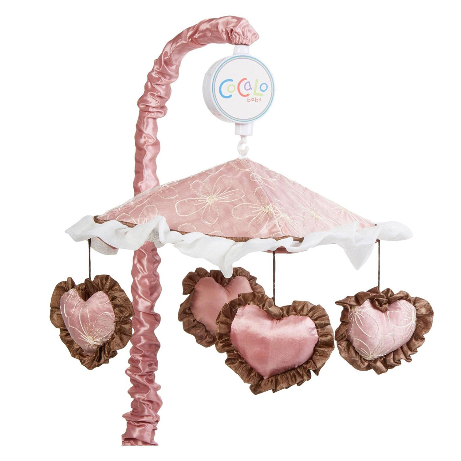 Cocalo Baby Crib Musical Mobile - Pink and Cream - Daniel...