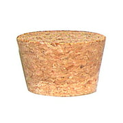 """National Artcraft Composition Cork Stoppers With 2"""" Rnd Top and 1-1/2"""" Rnd Bottom"""