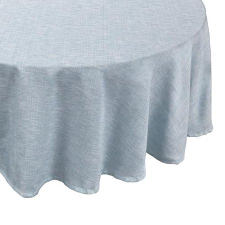 Bed Bath N More Restaurant Quality Chambray Vinyl Table Cloth With