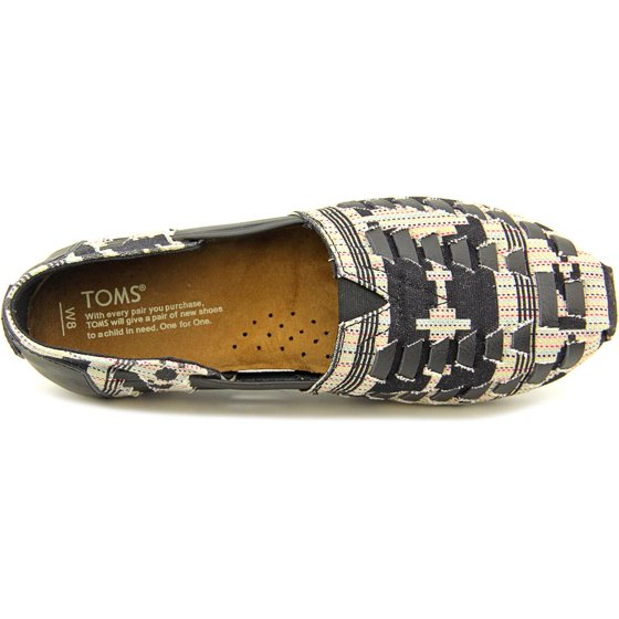 0d13cba250aa9 Toms - Toms Huarache Women Round Toe Leather Loafer - Walmart.com
