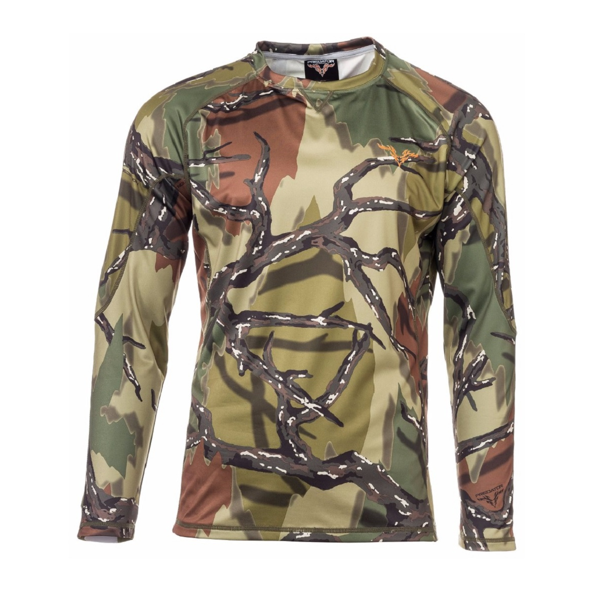Predator Camo Performance Long Sleeve Crew Top