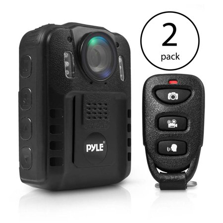 Pyle Compact Portable 1080p HD Infrared Night Vision Police Body Camera (2 Pack) - image 7 of 7
