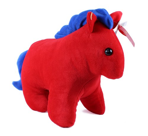 Large Red Circus Horse by Beverly Hills Teddy Bear Co. by Beverly Hills Teddy Bear Co.