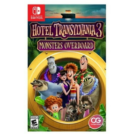 U&I ENTERTAINMENT Hotel Transylvania 3: Monster Overboard for Nintendo Switch