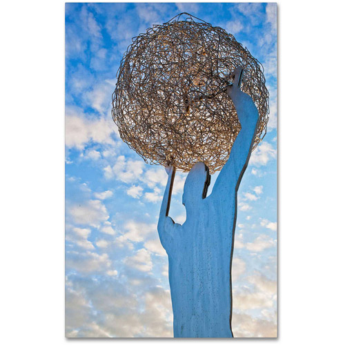"Trademark Fine Art ""World In Our Hands"" Canvas Art by Yale Gurney"