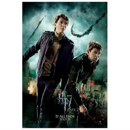 Harry Potter and the Deathly Hallows: Part II Poster Movie UK H 11 x 17 Inches - 28cm x 44cm Emma Watson Ralph Fiennes Gary Oldman Daniel Radcliffe Helena Bonham Carter Alan Rickman Tom Felton (Toms Sonnenbrille Uk)