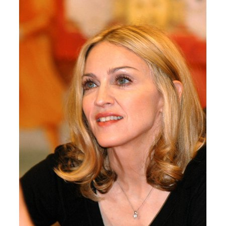Madonna At In-Store Appearance For Madonna Lotsa De Casha Book Reading Rolled Canvas Art - (8 x 10)