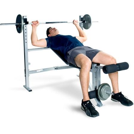 Cap Strength Deluxe Weight Bench Walmart Com