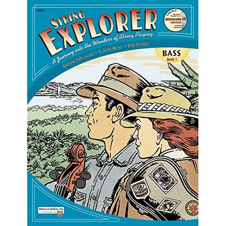 Alfred String Explorer (String Explorer: Book 1 - Bass)
