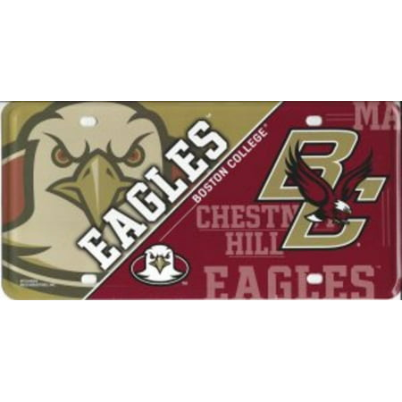 Boston College Eagles Metal License Plate (Eagle Industries Plate Carrier)