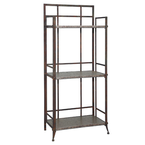 Powell Furniture Foundry 52'' Etagere Bookcase