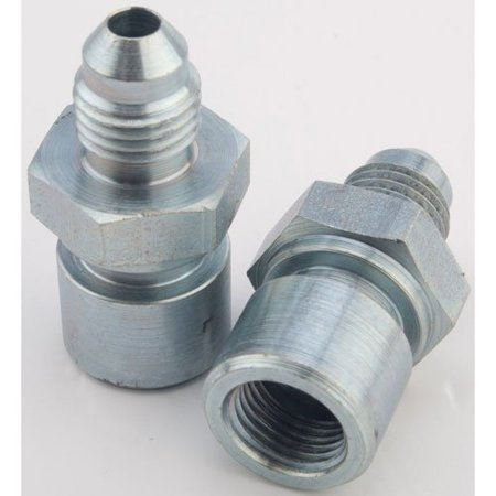 JEGS 100783 AN to Inverted Flare Female Tube Adapter Fittings
