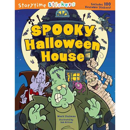 Storytime Stickers: Haunted Halloween House