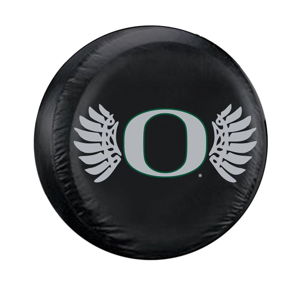 Fremont Die FMT-58457 Oregon Ducks Ncaa Wings Spare Tire Cover [standard] [black]