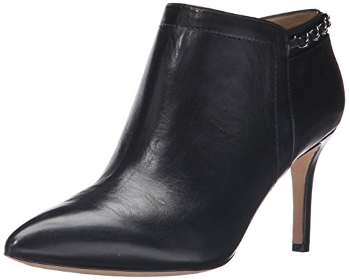 Carolina Espinosa Women's Banks Bootie, Black Leather, 10 M US by Carolina Espinosa