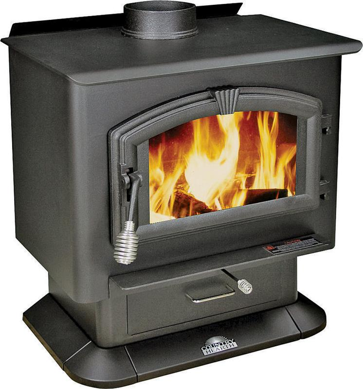 United States Stove 2000 Wood Stove, 89000 BTU, 2000 sq-ft, 21 in Log Wood by US STOVE