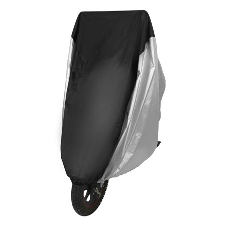 190T Coated Oxford Outdoor Bike Bicycle Rain Dust Cover Waterproof Travel Garage Scooter Protector for 1/2/3 (Bike Travel Cover)