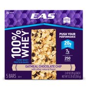 Eas Bar, 20 Grams of Protein, Oatmeal Chocolate Chip, 2.47 Oz, 5 Ct