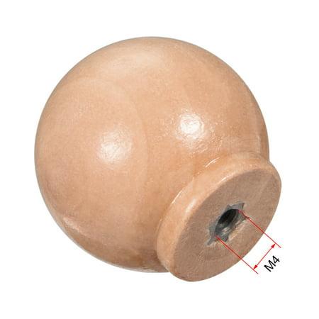 Poignée ronde bouton tirage 30mm Dia Meuble Cuisine chambre à coucher 10Pcs - image 1 de 4