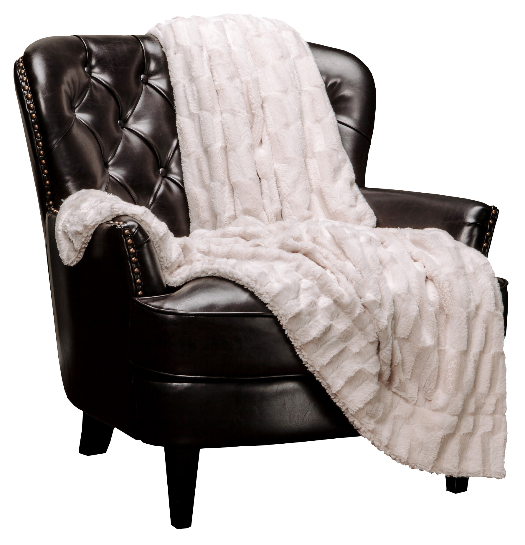 Chanasya Super Soft Cozy Sherpa Fuzzy Fur Warm Throw Blanket by Purchase Corner LLC