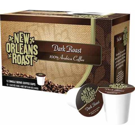 New Orleans Roast Dark Roast Coffee, Single Serve 12-pk.
