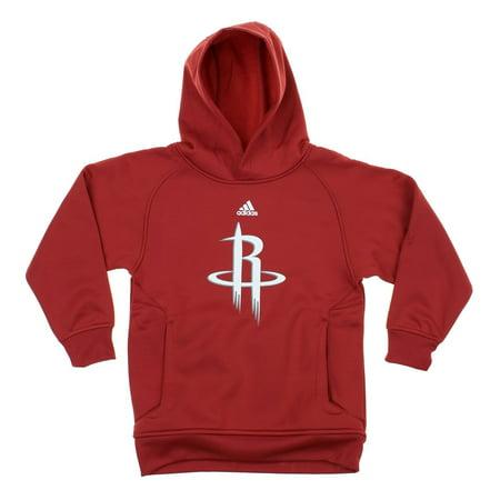 Adidas NBA Youth Houston Rockets Basketball Team Logo Pullover Hoodie - University Of Houston Logo