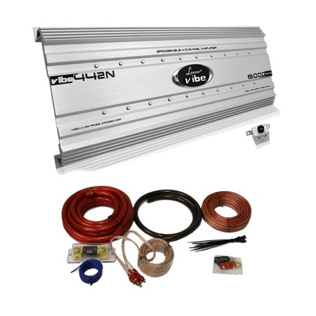 Fine Lanzar 5000 Watt 4 Channel Bridgeable Car Audio Amplifier 0 Gauge Wiring Database Mangnorabwedabyuccorg