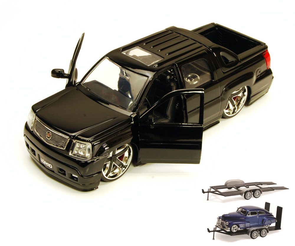 Diecast Car & Trailer Package