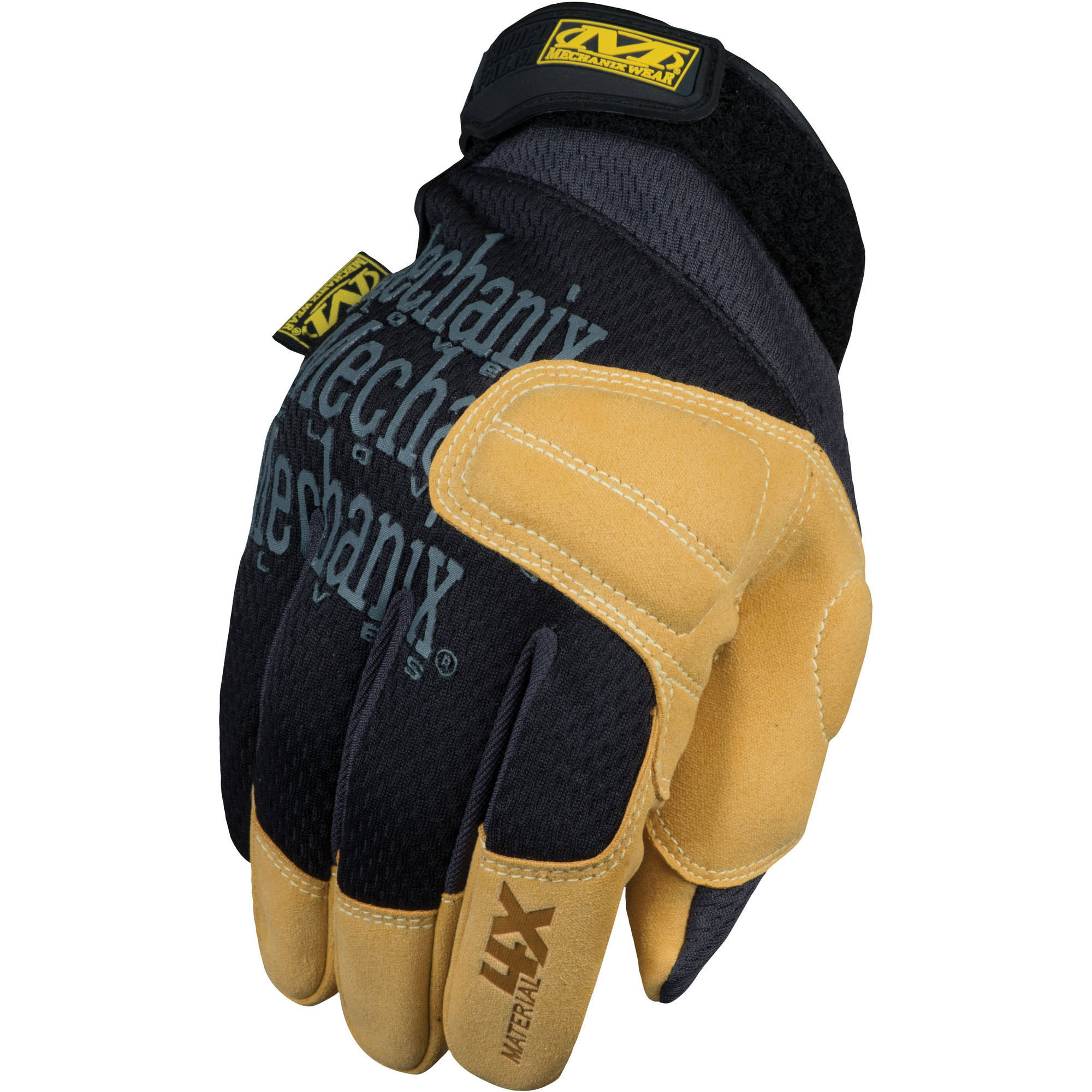 Mechanix Wear Material 4X Padded Palm Glove, Tan, X-Large