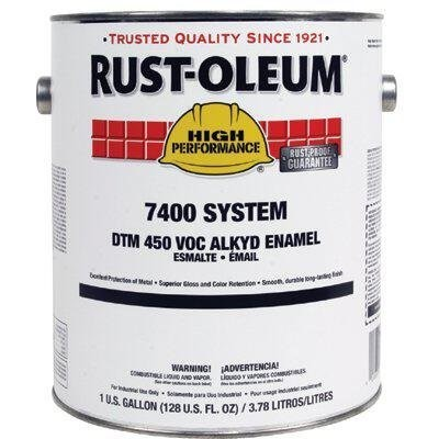 Rust-Oleum Gloss Fire Hydrant Red Interior/Exterior Paint,5 gal.