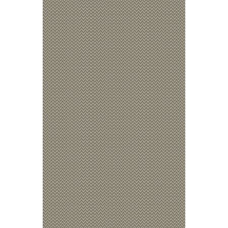 5 X 8 Concealed Chevronels Olive Green Hand Woven Area